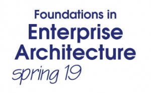 Foundations in Enterprise Architecture Bootcamp - Spring 2019 (S19BC)