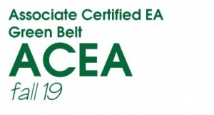 Associate Certified Enterprise Architect (ACEA) Green Belt - Fall 2019 (F19GB)