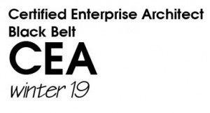 Certified Enterprise Architect (CEA) Black Belt - Winter 2019 (W19BB)