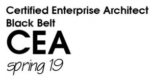 Certified Enterprise Architect (CEA) Black Belt - Spring 2019 (S19BB)