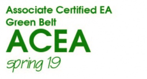 Associate Certified Enterprise Architect (ACEA) Green Belt - Spring 2019 (S19GB)
