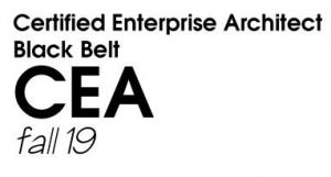 Certified Enterprise Architect (CEA) Black Belt - Fall 2019 (F19BB)