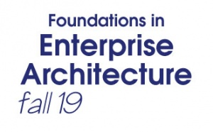 Foundations in Enterprise Architecture Bootcamp - Fall 2019 (F19BC)